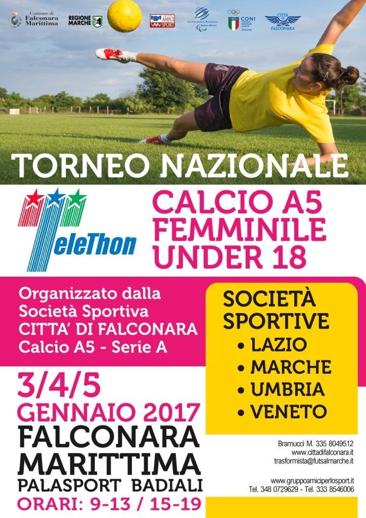 Torneo Telethon Calcio a 5 Femminile
