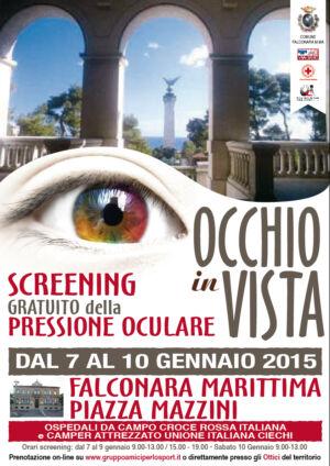Screening Gratuito Della Pressione Oculare